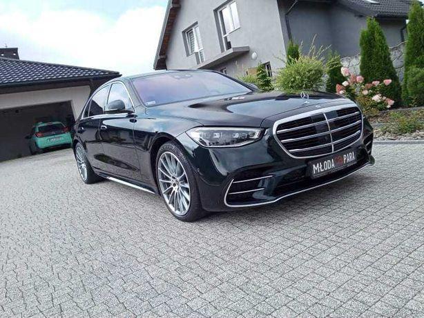 Mercedes klasa S Auto do ślubu panieńskie przewóz VIP