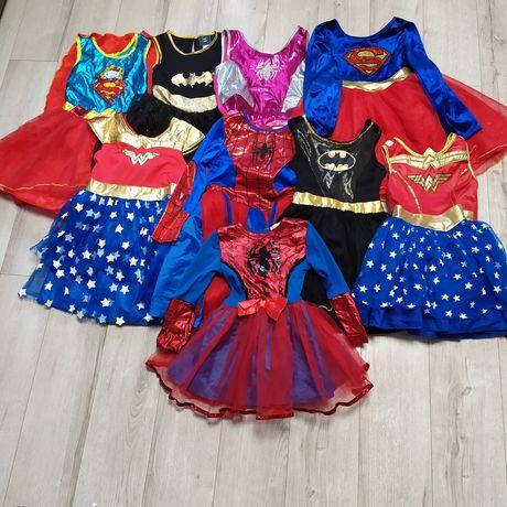 Новогоднее платье Бетменши,Супервумен,Супергеройки,Леди Баг
