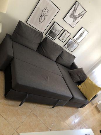 Sofa cama , com baú de arrumaçao