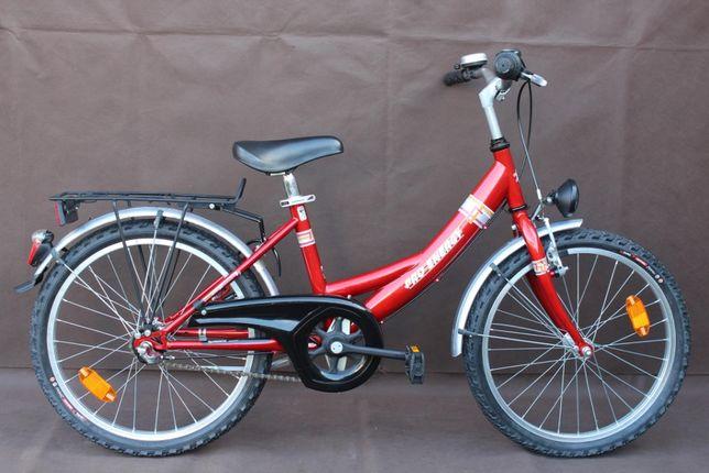 """Piękny Rower Dziecięcy """"PRO-ENERGY"""" Koła 20'' 3 Biegi w Piaście NEXUS"""