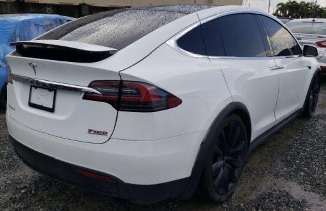 Разборка Tesla model X запчасти тесла s 3 y крыло четверть лонжерон