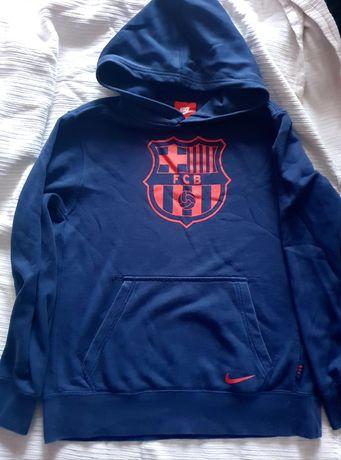 Bluza z kapturem nike Barcelona 12/13 lat