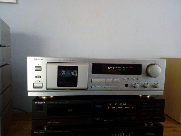 Magnetofon Denon DRM 550,sprawny.wzmacniacz,tuner.