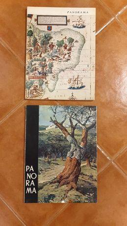 Revistas Antigas Panorama 1963 e 1965