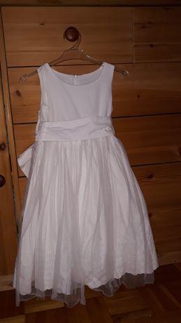 Biała suknia firmy Wójcik, 98cm