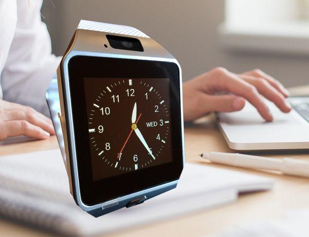 Smartwatch zegarek model 2021 SIM, SMS 34 funkcje, PIĘKNY!