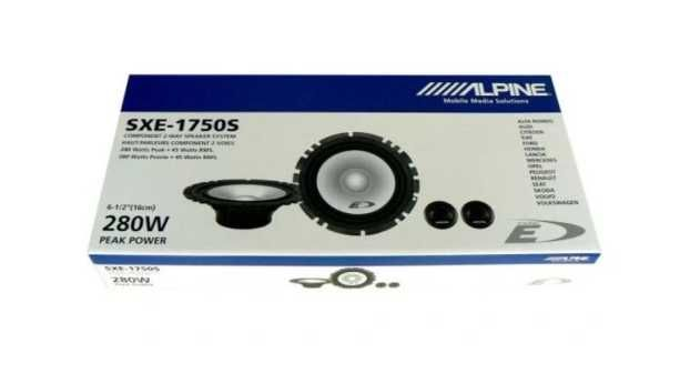 Głośniki ALPINE SXE-1750S 280W 165mm