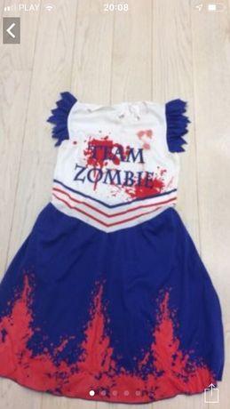 Sukienka przebranie zombi