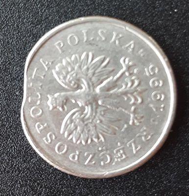 Moneta 1 zł - destrukt menniczy Radom - image 1