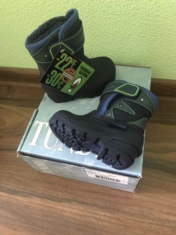 Зимние термо-ботинки tundra