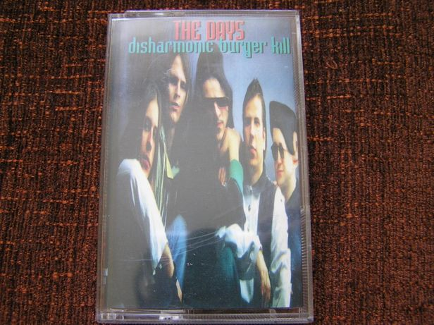 The Days Disharmonic Burger Kill kaseta audio magnetofonowa