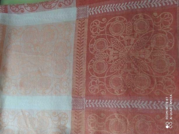 Скатерть гипоаллергенная. Натуральный лен. Украинский текстиль