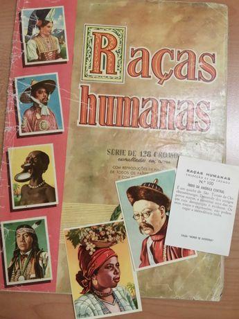 Cromos raros Raças humanas