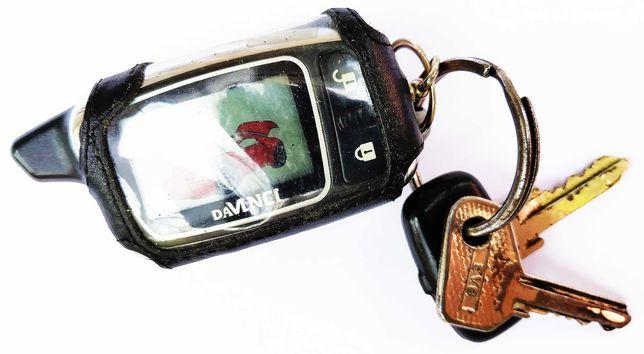 Рабочий брелок «Davinci PHI-310/LCD-B5» с ключами в кожаном чехле!