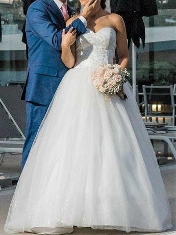 Vestido de noiva + saiote
