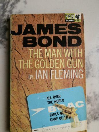 """Ian Fleming """"James Bond : The man with the golden gun"""" rok.1965"""
