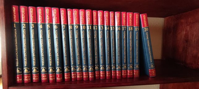 Wielka Encyklopedia Świata Oxford 20 tomów