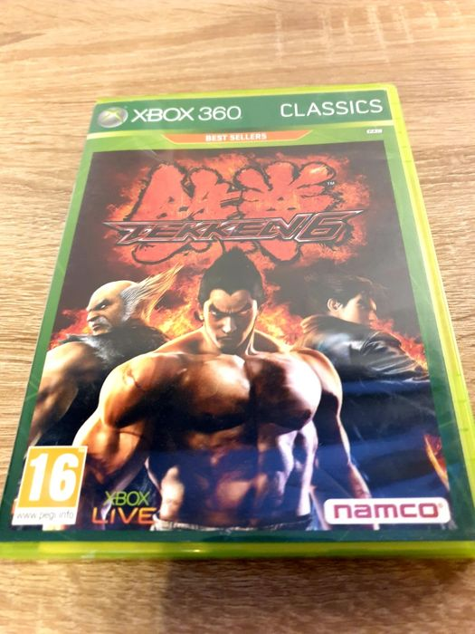 Gry xbox 360 NFS Tekken 6 Piekary Śląskie - image 1