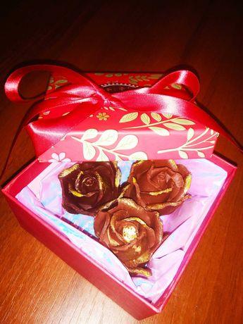 Подарок близкому человеку- шоколад ручной работы!