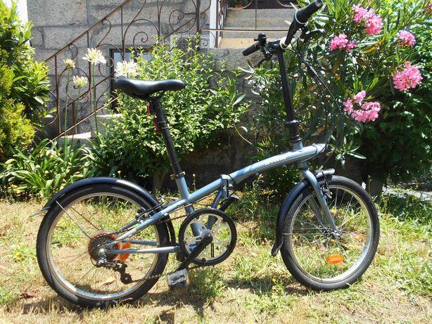 Bicicleta Urbana Dobrável Tilt 120 com extras
