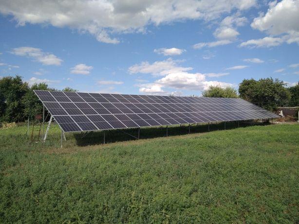 Солнечные панели, инвертора, крепления, комплектующие, монтаж СЕС...