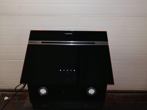 Okap kuchenny, ścienny, 60 cm, kolor czarny