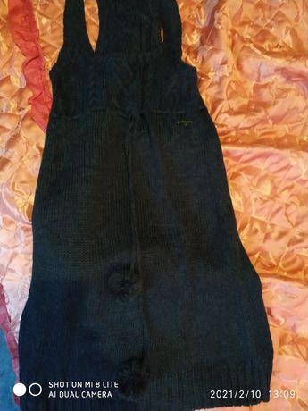 Платье вязаное.Свитер крупная вязка