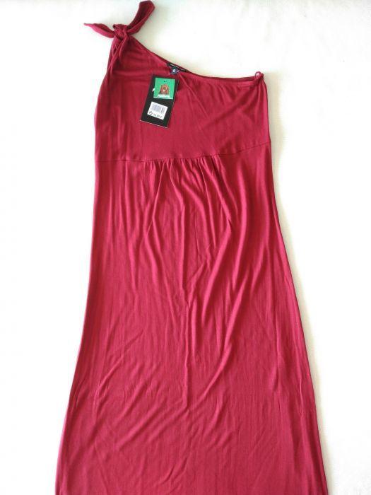 Vestidos compridos alças Zara e Natura S (34/36) novos
