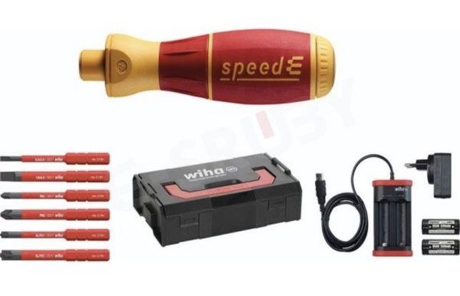Wkrętak elektryczny, 1 speedE 10 części L-Boxx WIHA