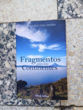 """Livro """"Fragmentos entre dois Continentes"""" de João Câmara"""