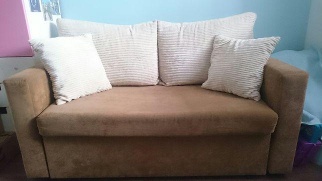 Elegancka sofa rozkładana