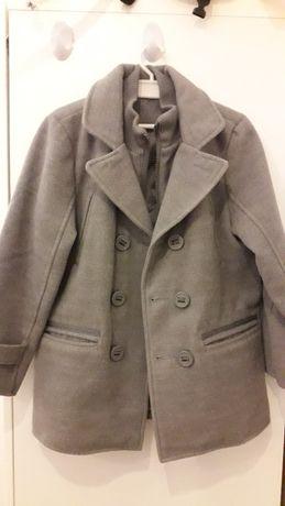 Kurtka-Płaszcz zimowy flauszowy C&A