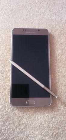 Samsung note 5, złoty, nowa bateria