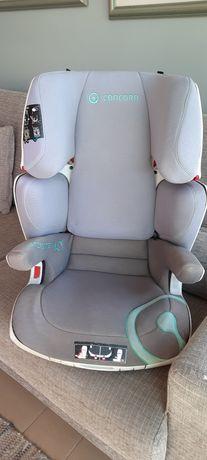 Cadeira par Bebé giratória com capas em bo estado