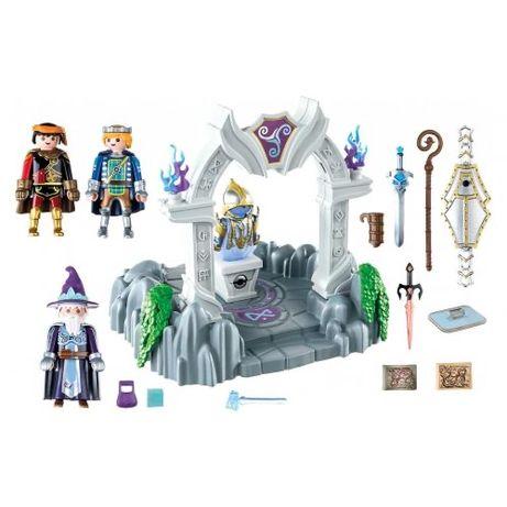 Игровой набор Playmobil Часовня времени Новелмора с фигурками (70223)