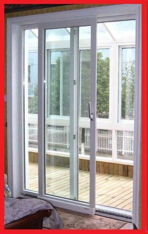Окна двери  металлопластиковые с установкой доставка бесплатно