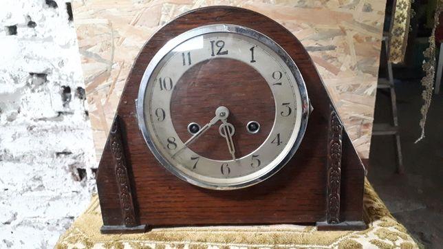 Piękny przedwojenny zegar Junghans Wurttemberg Galeria Sztuki A.Sz