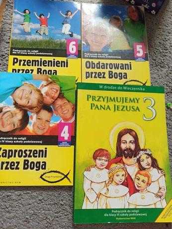 Książki do Religii mix klas od 3 do 6