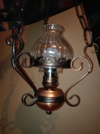 Stylowa, stara lampa