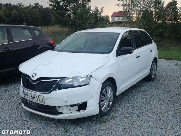 Škoda RAPID salon Polska LPG FV23%