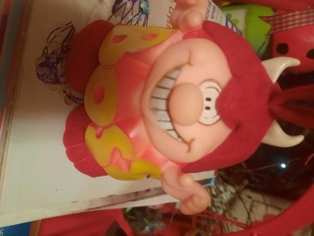 игрушка мягкая и резина босс BOSS чертик начальник кукла