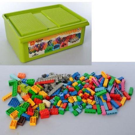 Конструктор в пластиковом ящике 093-3 1500 дет Аналог Lego лего Duplo
