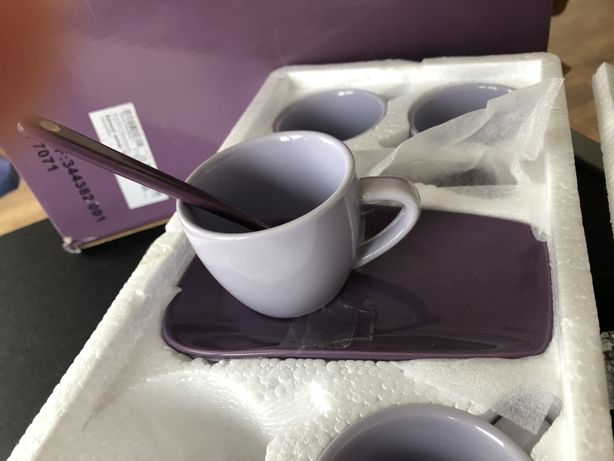 Кофейный сервиз лиловый