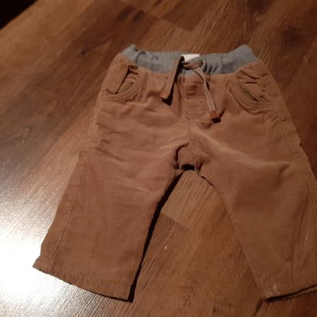 Zara spodnie 74 chłopak