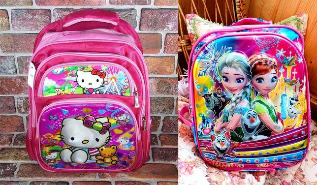 Шкільний ортопедичний рюкзак для дівчинки. Новий. 3D