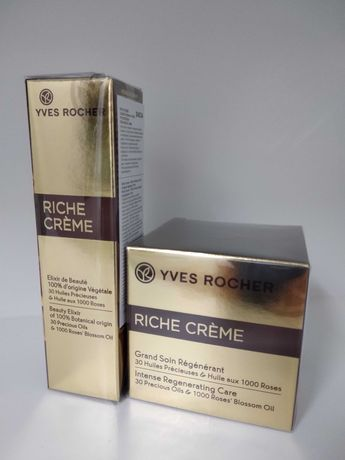 Krem 75 ml i eliksir piękna 30 ml Riche Creme Yves Rocher