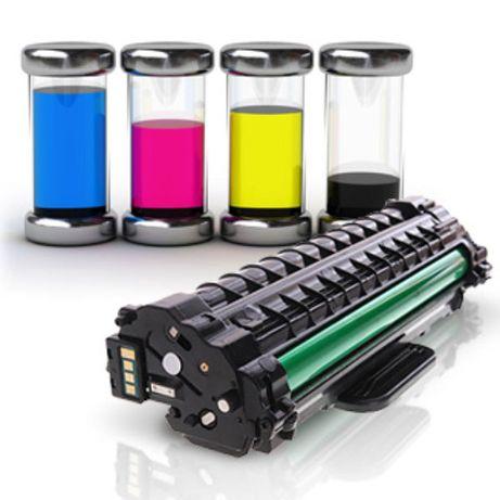 Заправка лазерних та струменевих картриджів. Ремонт принтерів