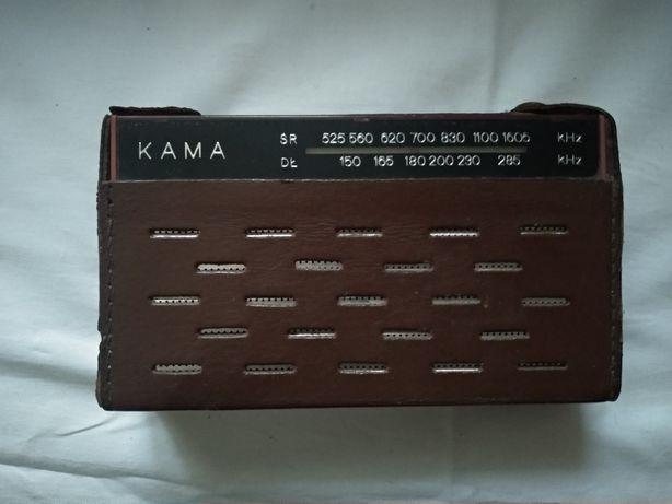 Radio tranzystor Kama kultowe PRL