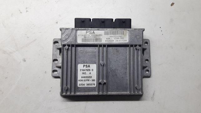 komputer sterownik silnika citroen c 3 1.4 8v