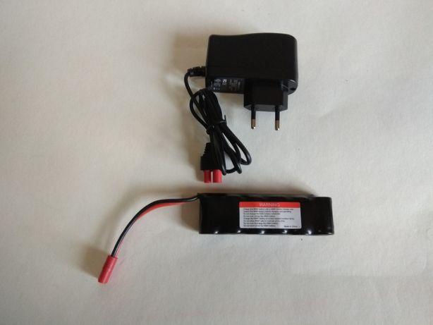 Bateria Akumulator Pakiet ładowarka RC 1100mAh NIMH